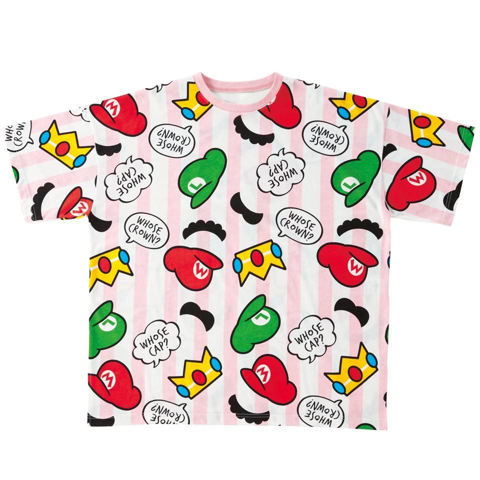 Camisa de Mario Bros