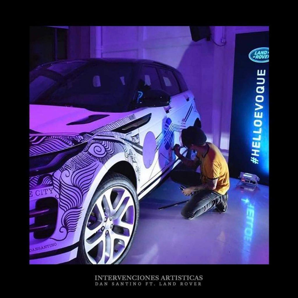 Dan Santino Ft. Land Rover