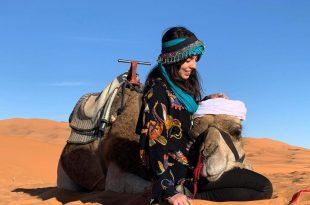 En el desierto de Merzouga