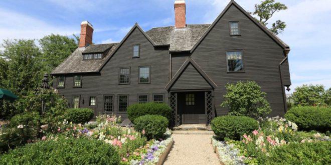 La Casa de la Bruja en Salem, Massachusetts.