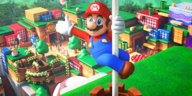 Mario y el parque Super Nintendo World
