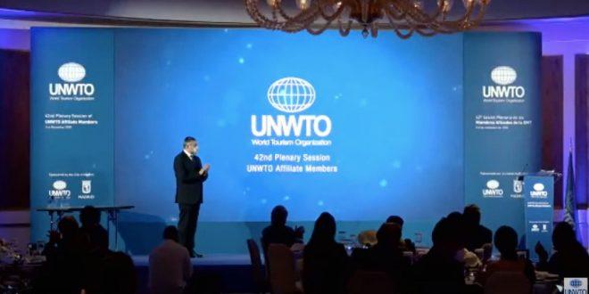 42ª Sesión Plenaria de la Organización Mundial del Turismo (OMT)