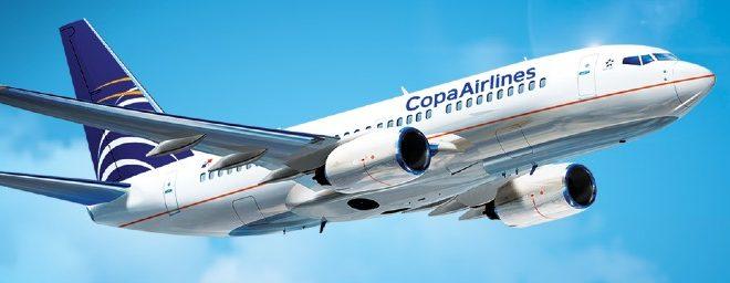 Avión de Copa Airlines 2