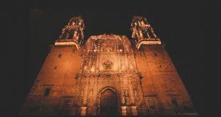 Catedral de Zacatecas de noche