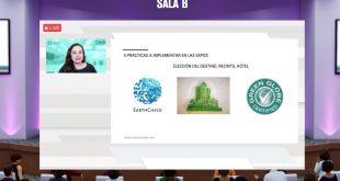 Ponencia _Sostenibilidad en las Expos, la fórmula perfecta para reactivar la economía_ de Marcela Altamirano