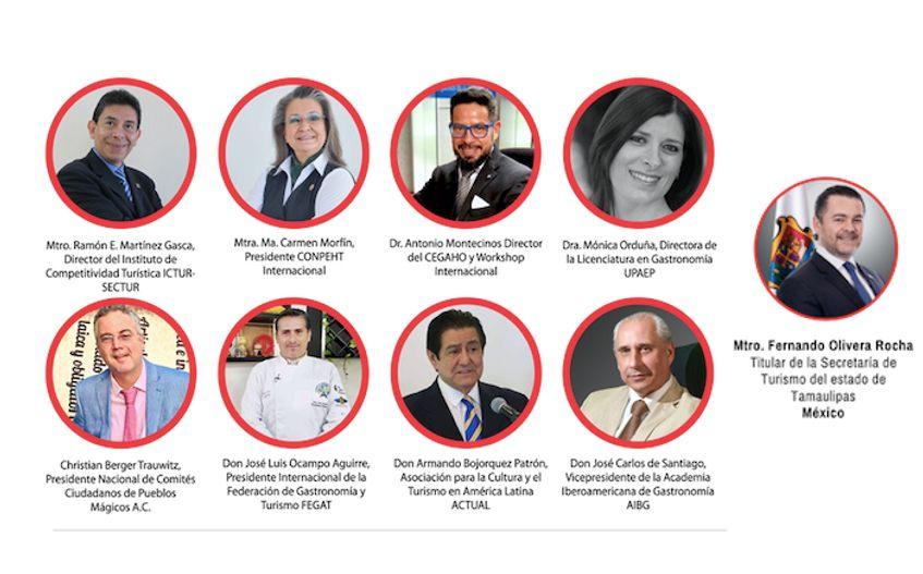 Workshop Internacional Destino de Turismo Gastronómico Presentacion expertos