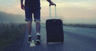 Caminar con maleta