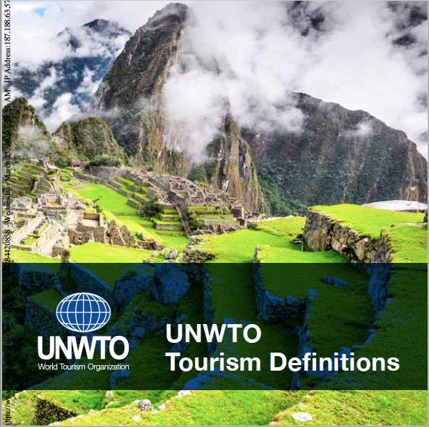 Definiciones de Turismo de la OMT