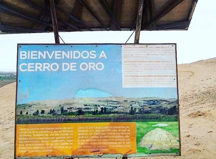 osamenta en Cerro de Oro