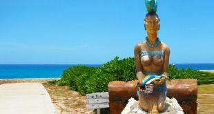 Diosa Ixchel en isla mujeres