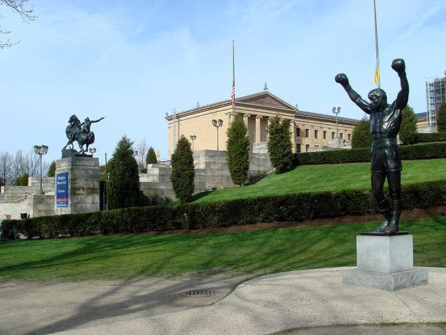 Estatua de Rocky Balboa
