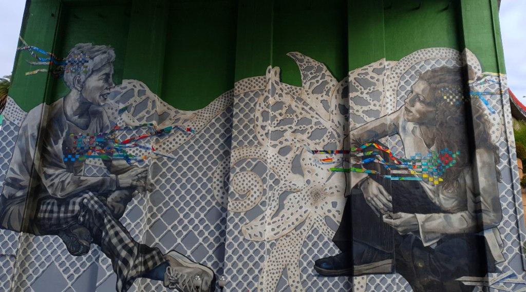 Giltza BAT mural Bilbao