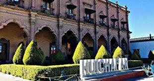 Letras monumentales de Huichapan en Hidalgo