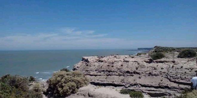 Ruta de los acantilados en Argentina