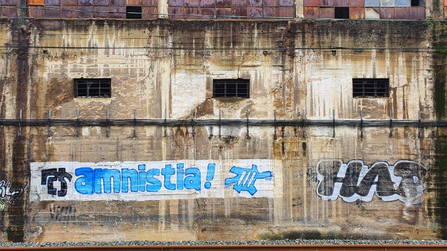 amnistía mural Bilbao