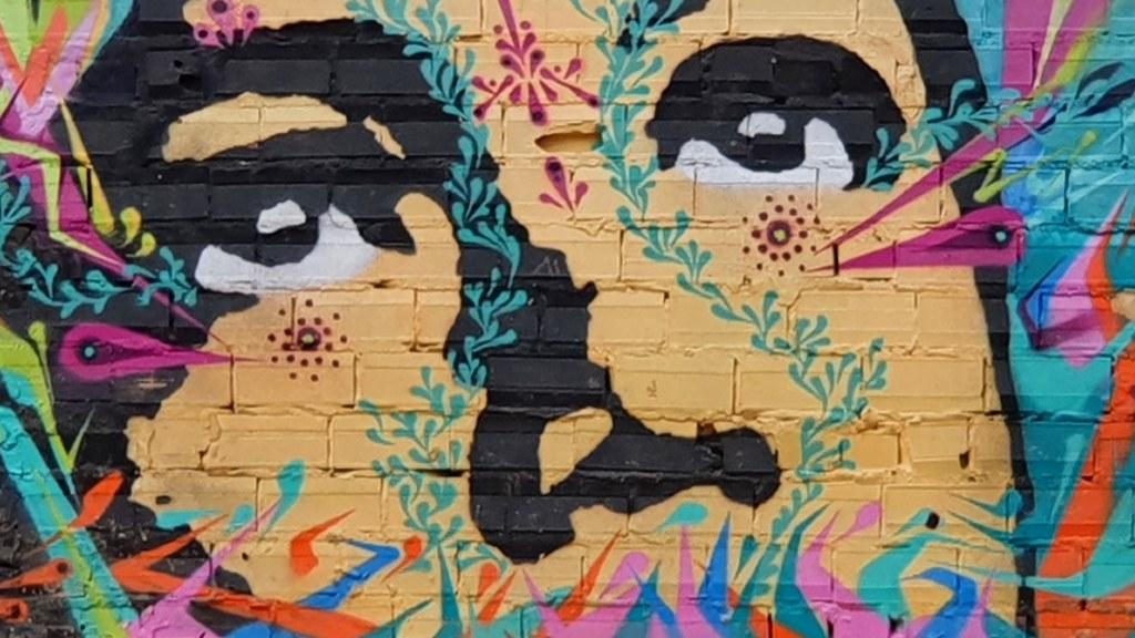 niño mural Bilbao