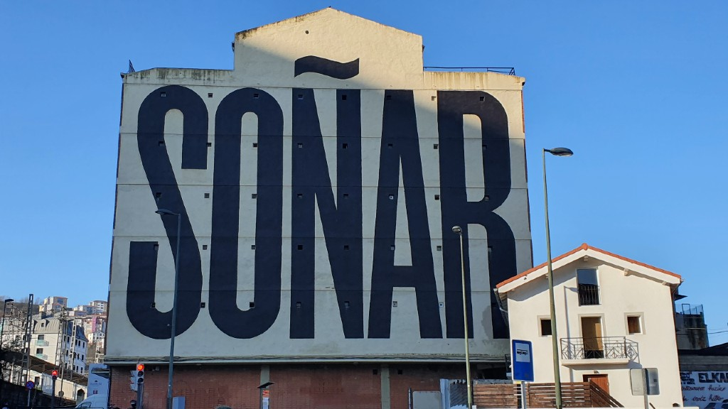 soñar mural Bilbao
