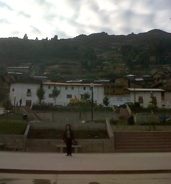 Ángela en Rapayán, Perú