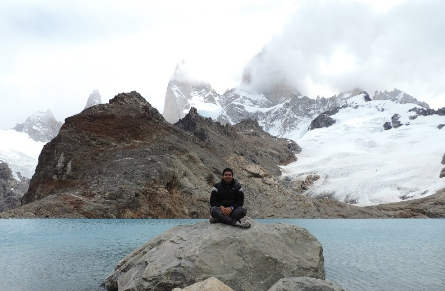 Base monte Fitz Roy y Laguna Sucia