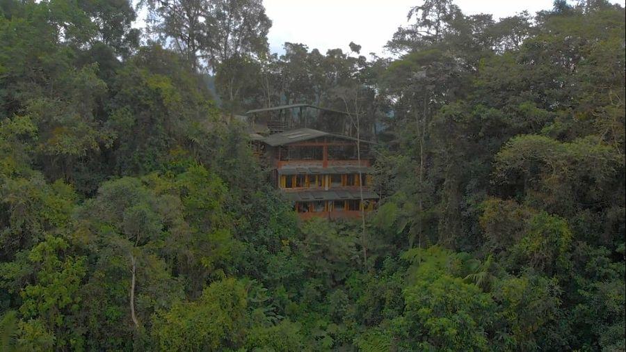 Bellavista Cloud Forest Reserve de lejos