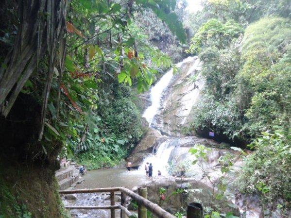 Cascada la Piragua
