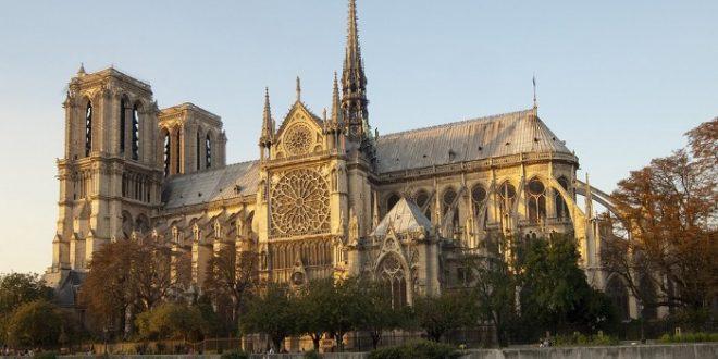 Catedral de Notre Dame antes del incendio