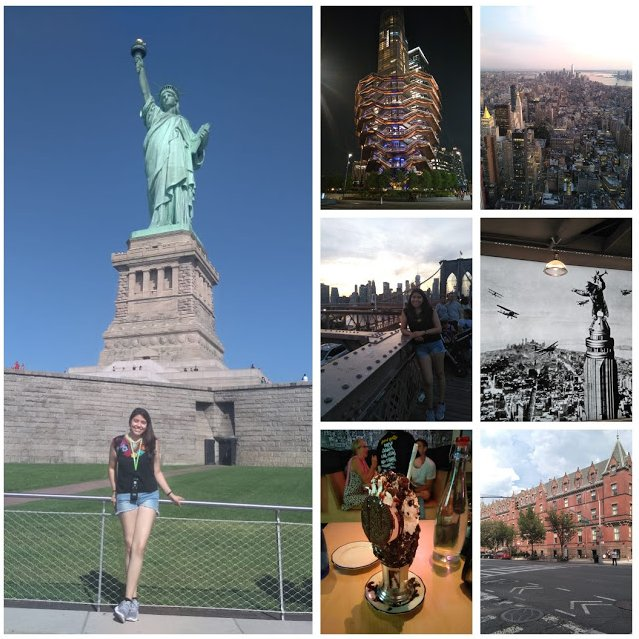 Collage Nueva York Hannia Rojas