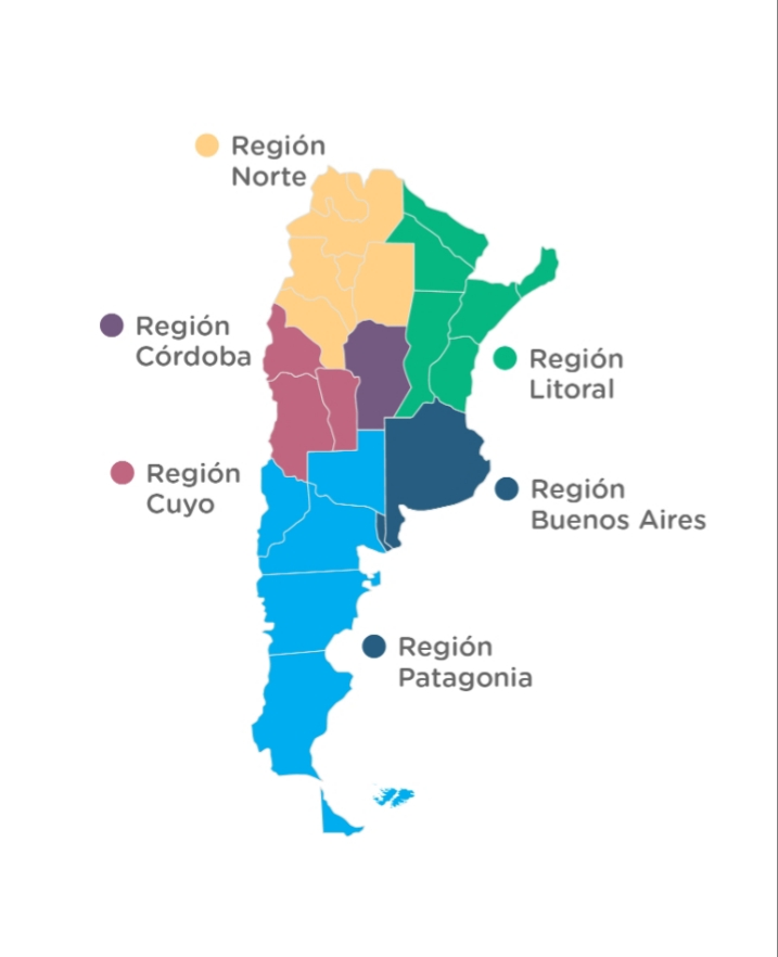 Regiones argentinas
