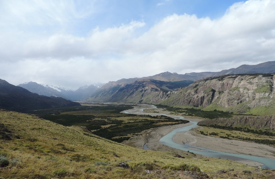 Valles y montañas del Chaltén