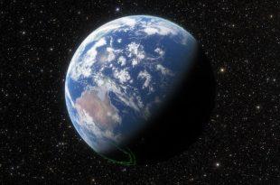 Vista de la tierra desde el espacio (Turismo espacial)