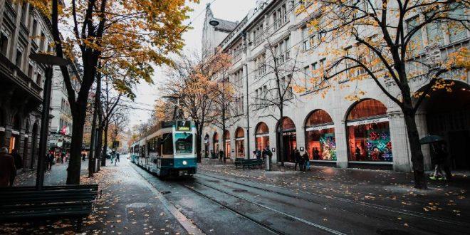 Bahnhofstrasse calle en Zúrich