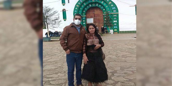 Con Anita en San Juan Chamula