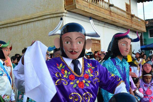 Danza de Los Diablos de Ichocán – San Marcos