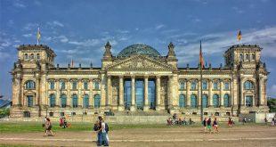 Edificio de el Reichstag en Berlín, Alemania