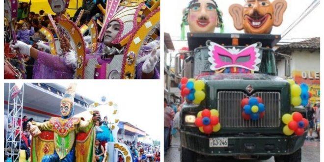 El carnaval en Cajamarca
