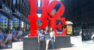 Letras monumentales Hope en Nueva York
