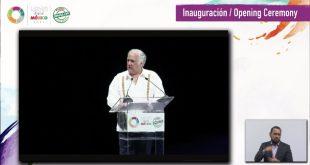 Miguel Torruco en la inauguración del tianguis turístico digital 2021