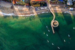 Muelle Playa de los Muertos en Puerto Vallarta