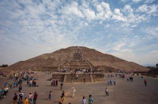 Piramide del Sol en Teotihuacán