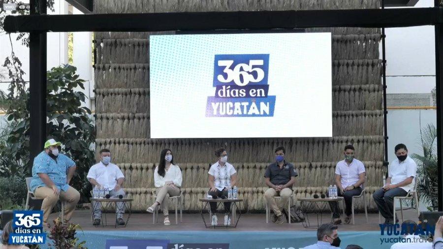 Presentación de la campaña _Yucatán 365_
