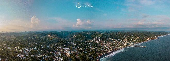Puerto de la Libertad en El Salvador