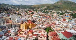 Ciudad de Guanajuato a lo lejos