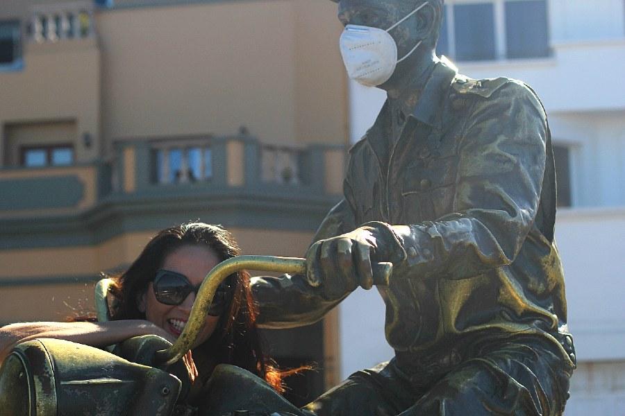 Estatua de Pedro Infante en Mazatlán