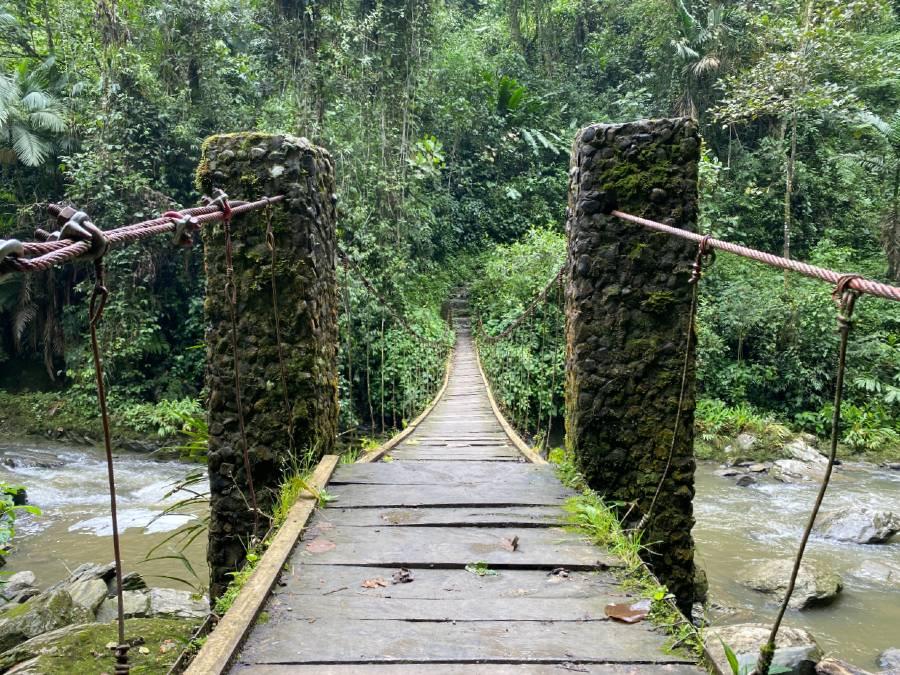 Puente Colgante en Ventanas de Tisquizoque