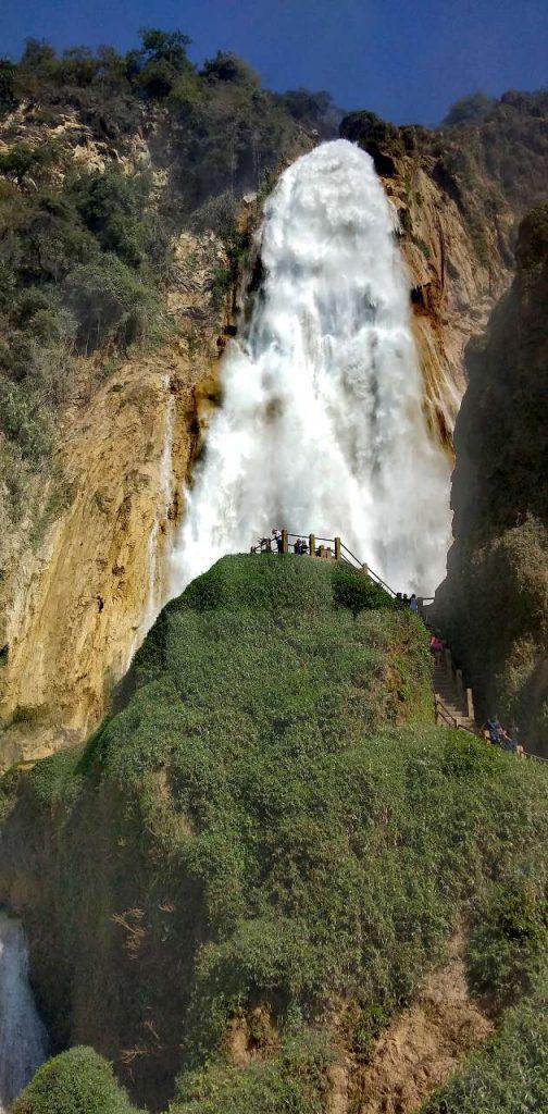 Cascada Velo de novia en Chiapas