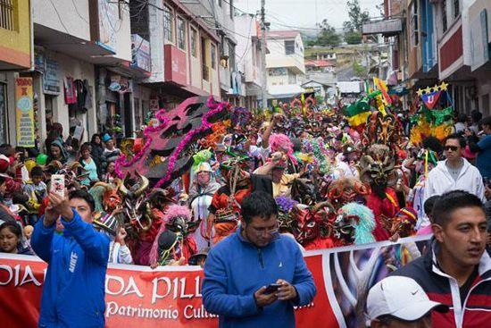 Desfile de Píllaro Cabecilla