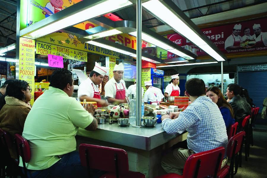 Mercado de la Cruz en Querétaro