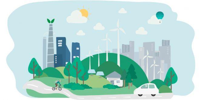 Paisaje con prácticas sustentables