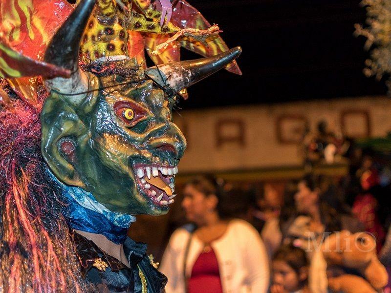 Personajes del desfile de Píllaro