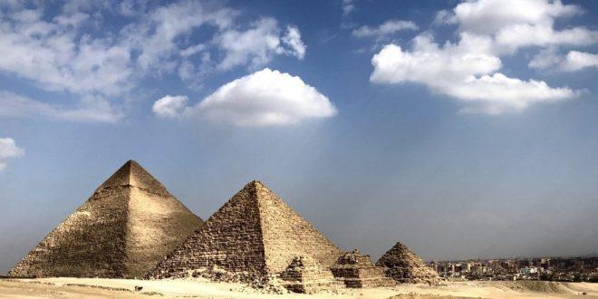 Pirámides en Egipto